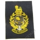 Royal Marines QC Deluxe Blazer Badge