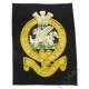 The Queens Regiment Deluxe Blazer Badge