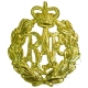 RAF Royal Air Force Cap Badge QC & KC