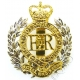 Royal Engineers Cap Badge QC