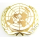 UN United Nations Beret /  Cap Badge