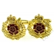 Duke Of Lancasters Regiment Cufflinks (Metal / Enamel)