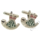DLI Durham Light Infantry Cufflinks (Metal / Enamel)