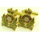Intelligence Corps Cufflinks (Metal / Enamel)