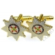 Irish Guards Cufflinks (Metal / Enamel)