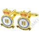 RAF Royal Air Force Fighter Command Cufflinks (Metal / Enamel)