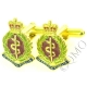 RAMC Royal Army Medical Corps Cufflinks (Metal / Enamel)