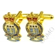 RAOC Royal Army Ordnance Corps Cufflinks (Metal / Enamel)