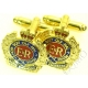 Royal Engineers Cufflinks (Metal / Enamel)