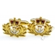 Royal Naval / Navy Officer Cufflinks (Metal / Enamel)