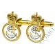 Royal Navy Petty Officer Cufflinks (Metal / Enamel)