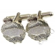 RTR Royal Tank Regiment Cufflinks (Metal / Enamel)