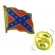 Confederate Flag Lapel Pin Badge (Metal / Enamel)
