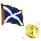 Saltire / Scottish / Scotland Flag Lapel Pin Badge (Metal / Enamel)