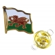 Wales / Welsh Flag Lapel Pin Badge (Metal / Enamel)