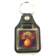 Grenadier Guards Leather Medallion Keyring