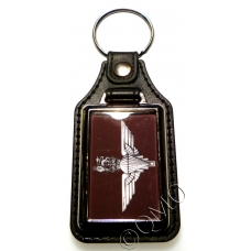 The Parachute Regiment Leather Medallion Keyring