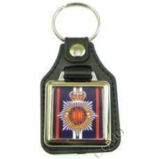 RCT Royal Corps Of Transport Leather Medallion Keyring