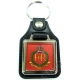 RMP Royal Military Police Leather Medallion Keyring