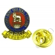15th/19th Kings Royal Hussars Lapel Pin Badge (Metal / Enamel)