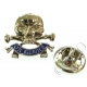 17th/21st Lancers Lapel Pin Badge (Metal / Enamel)