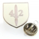 Royal Marines 42 Commando Shield Lapel Pin Badge (Metal / Enamel)