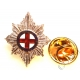 Coldstream Guards Lapel Pin Badge (Metal / Enamel)