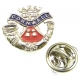 Duke Of Cornwalls Light Infantry Lapel Pin Badge (Metal / Enamel)