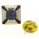 Duke Of Edinburghs Royal Regiment Lapel Pin Badge (Metal / Enamel)