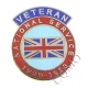 National Service Veterans Lapel Pin Badge