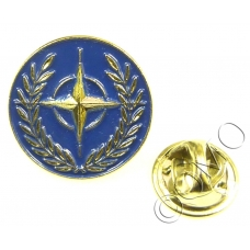 NATO North Atlantic Treaty Organization Lapel Pin Badge (Metal / Enamel)