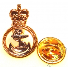 Royal Navy Petty Officer Lapel Pin Badge (Metal / Enamel)