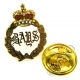 The Queens Bays (2nd Dragoon Guards) Lapel Pin Badge (Metal / Enamel)