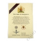 The Parachute Regiment Oath Of Allegiance Certificate