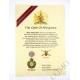 Royal Engineers Oath Of Allegiance Certificate