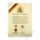 Royal Regiment Of Fusiliers Oath Of Allegiance Certificate