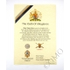 The Queens Regiment Oath Of Allegiance Certificate