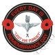 The 10th Btn Parachute Regiment Remembrance Day Sticker