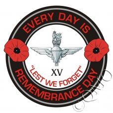 The 15th Btn Parachute Regiment Remembrance Day Sticker
