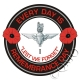 The 1st Btn Parachute Regiment Remembrance Day Sticker