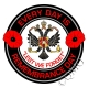 1st Queens Dragoon Guards Remembrance Day Sticker