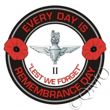 The 2nd Btn Parachute Regiment Remembrance Day Sticker