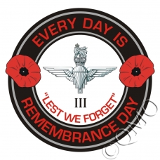 The 3rd Btn Parachute Regiment Remembrance Day Sticker