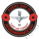 The 4th Btn Parachute Regiment Remembrance Day Sticker
