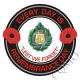 Argyll & Sutherland Highlanders Remembrance Day Sticker