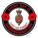 Blues And Royals Remembrance Day Sticker