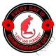 7th Armoured Division The Desert Rats Remembrance Day Sticker
