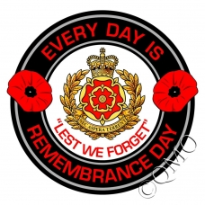 Duke Of Lancasters Regiment Remembrance Day Sticker