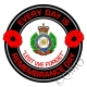 Royal Engineers Remembrance Day Sticker