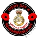 The Life Guards Remembrance Day Sticker